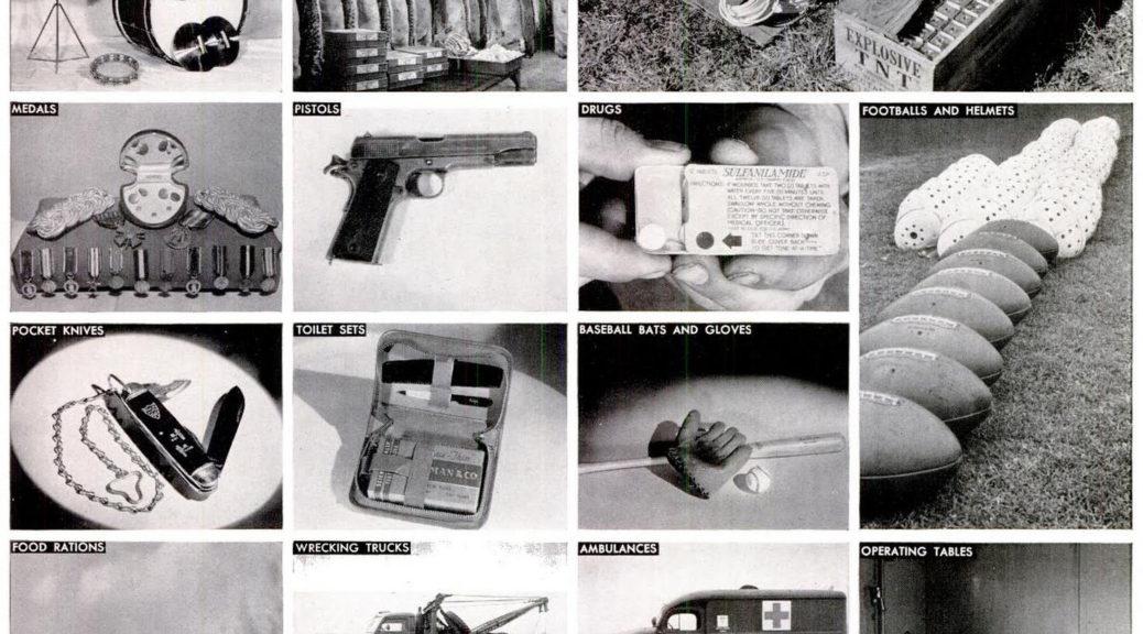 World War II Supplies