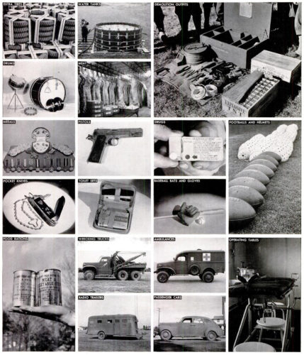 World War II Supplies