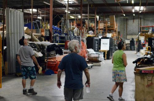 The HGO warehouse