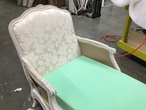 Seat cushion and side panels