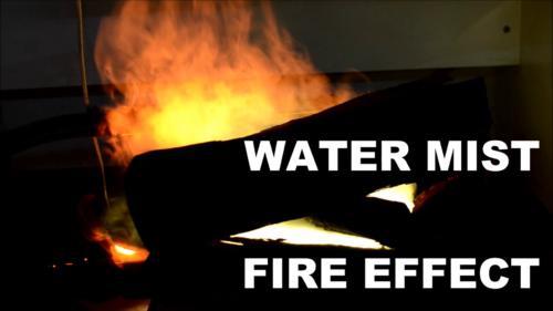 Water Mist Fire Effect video
