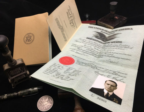 Props from the television show Boardwalk Empire by Ross MacDonald