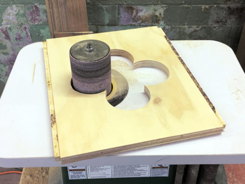 Cutting the quatrefoils
