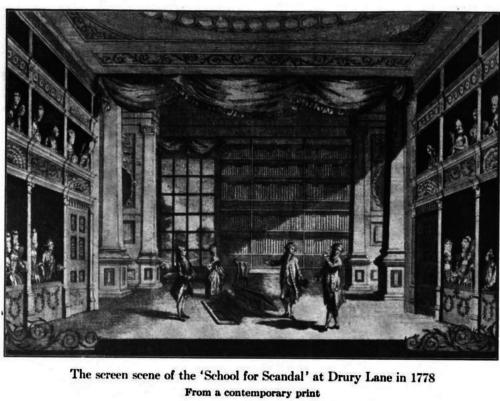 School for Scandal, 1778