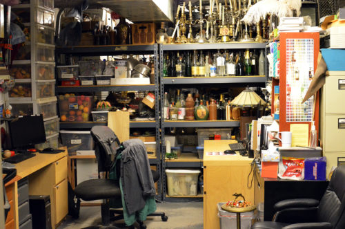 Chicago Shakespeare's prop office