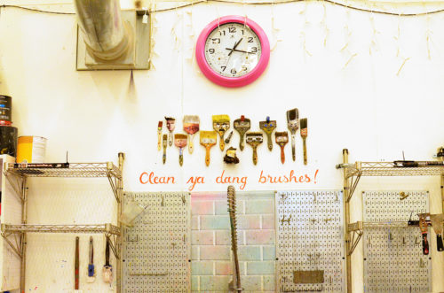 Clean ya dang brushes!