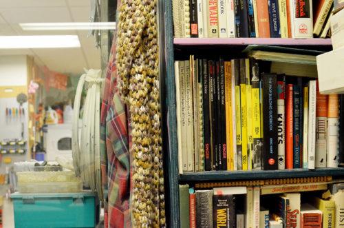 Prop office bookshelf