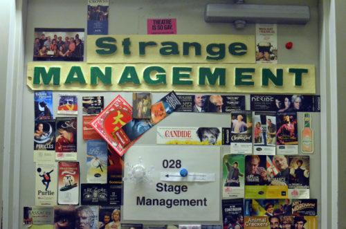 Strange Management