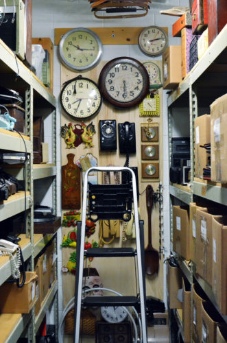 Clocks and phones