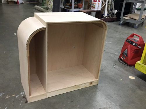 The cabinet body