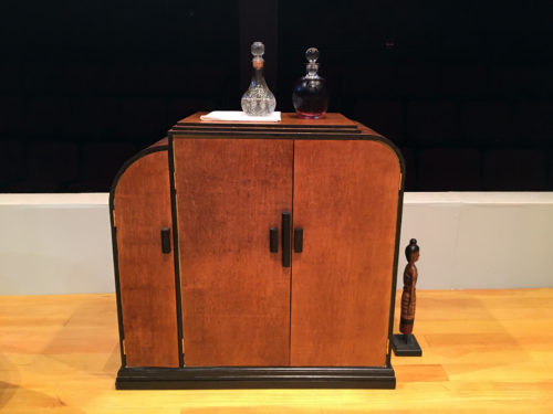 Cabinet front view
