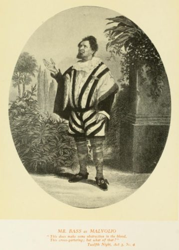 Mr. Bass as Malvolio