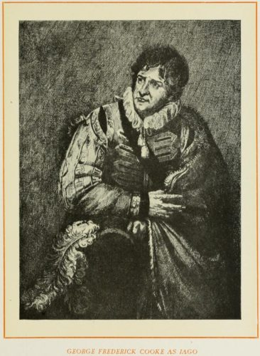 George Frederick Cooke as Iago