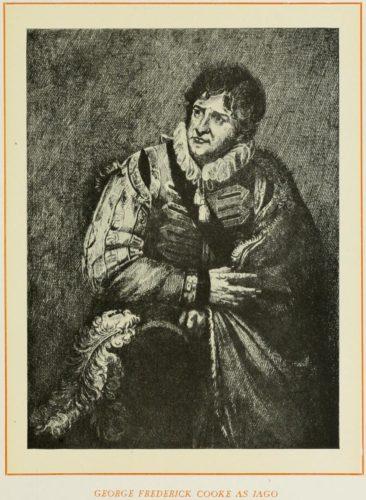 George Frederick Cooke as Iago