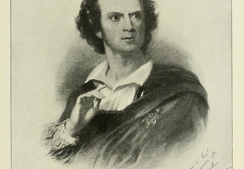 CW Couldock as Hamlet, 1872