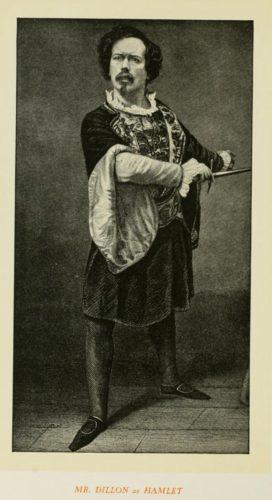 Mr Dillon as Hamlet