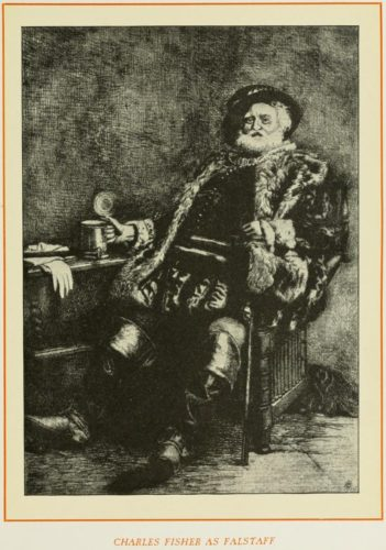 Charles Fisher as Falstaff