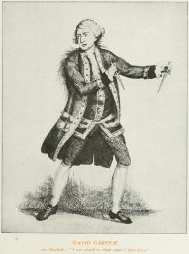 David Garrick as Macbeth