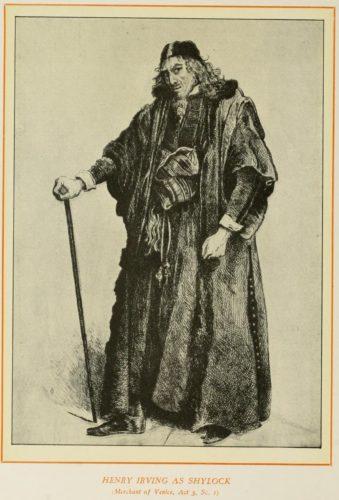 Henry Irving as Shylock
