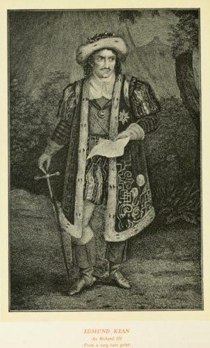 Edmund Kean as Richard III