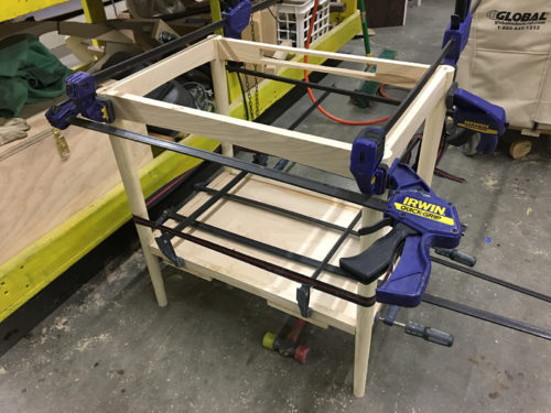 Glue assembly