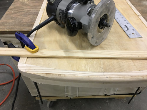 Rounding the edge with a router